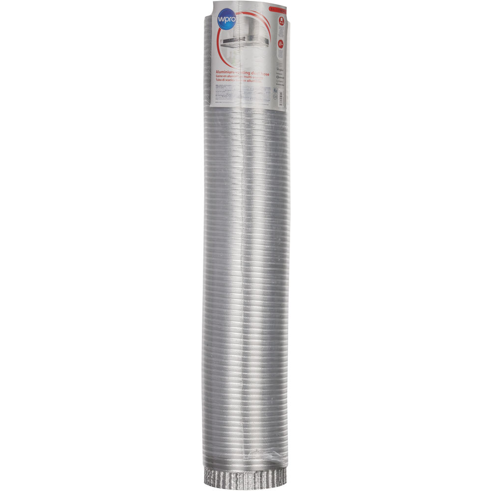 Buigzame aluminium afvoerbuis (Ø 150 mm x L 3 m)