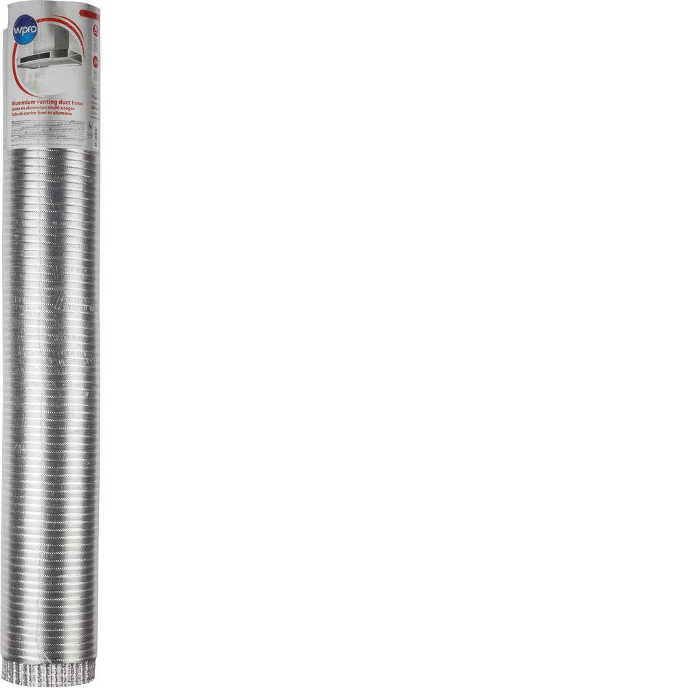 Tuyau de drainage flexible en aluminium (Ø 120 mm x L 3 m)