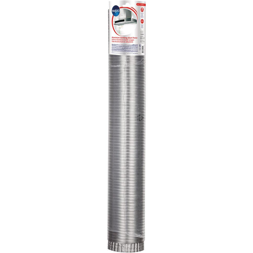 Buigzame aluminium afvoerbuis (Ø125 mm x L 3 m)