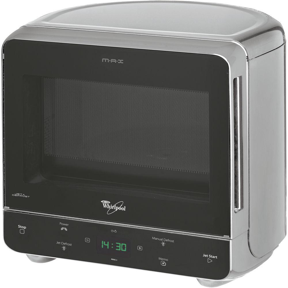 Whirlpool fristående mikrovågsugn: färg silver - MAX 34/SL