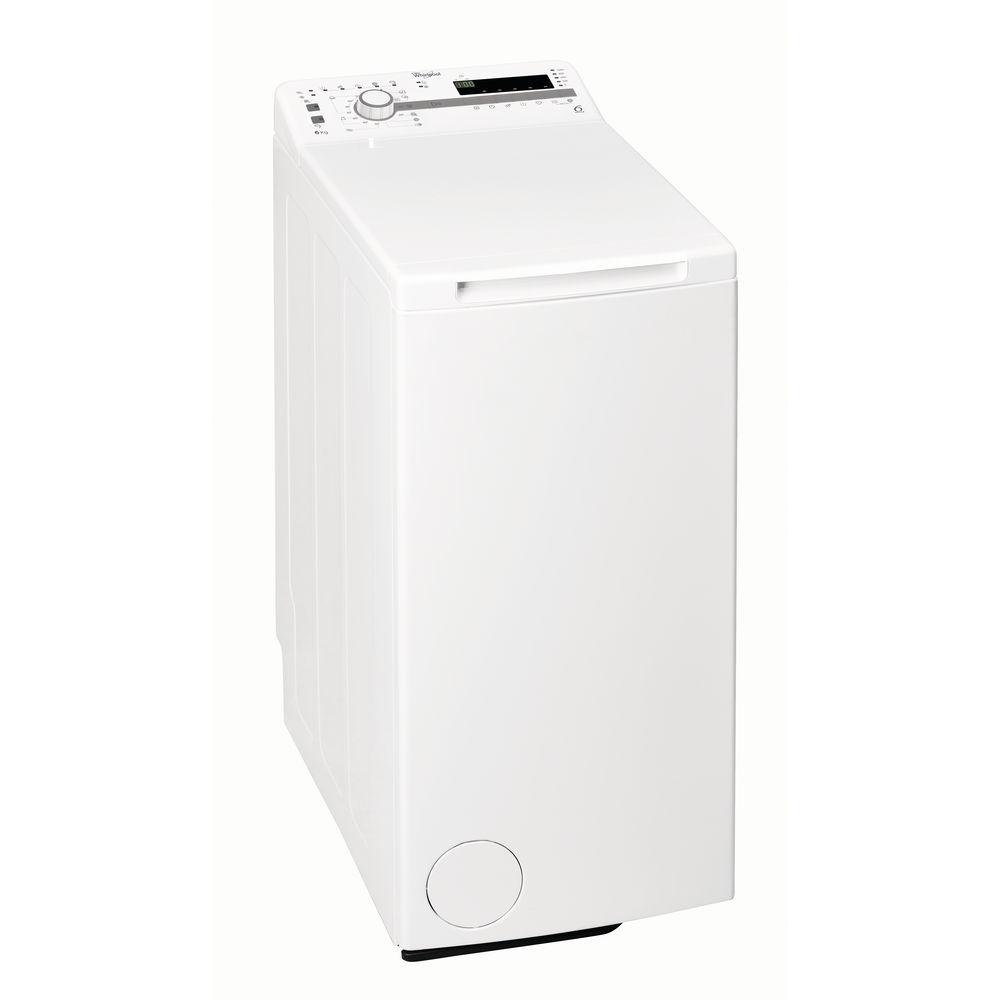 Whirlpool toppmatad tvättmaskin: 6 kg - TDLR 60111