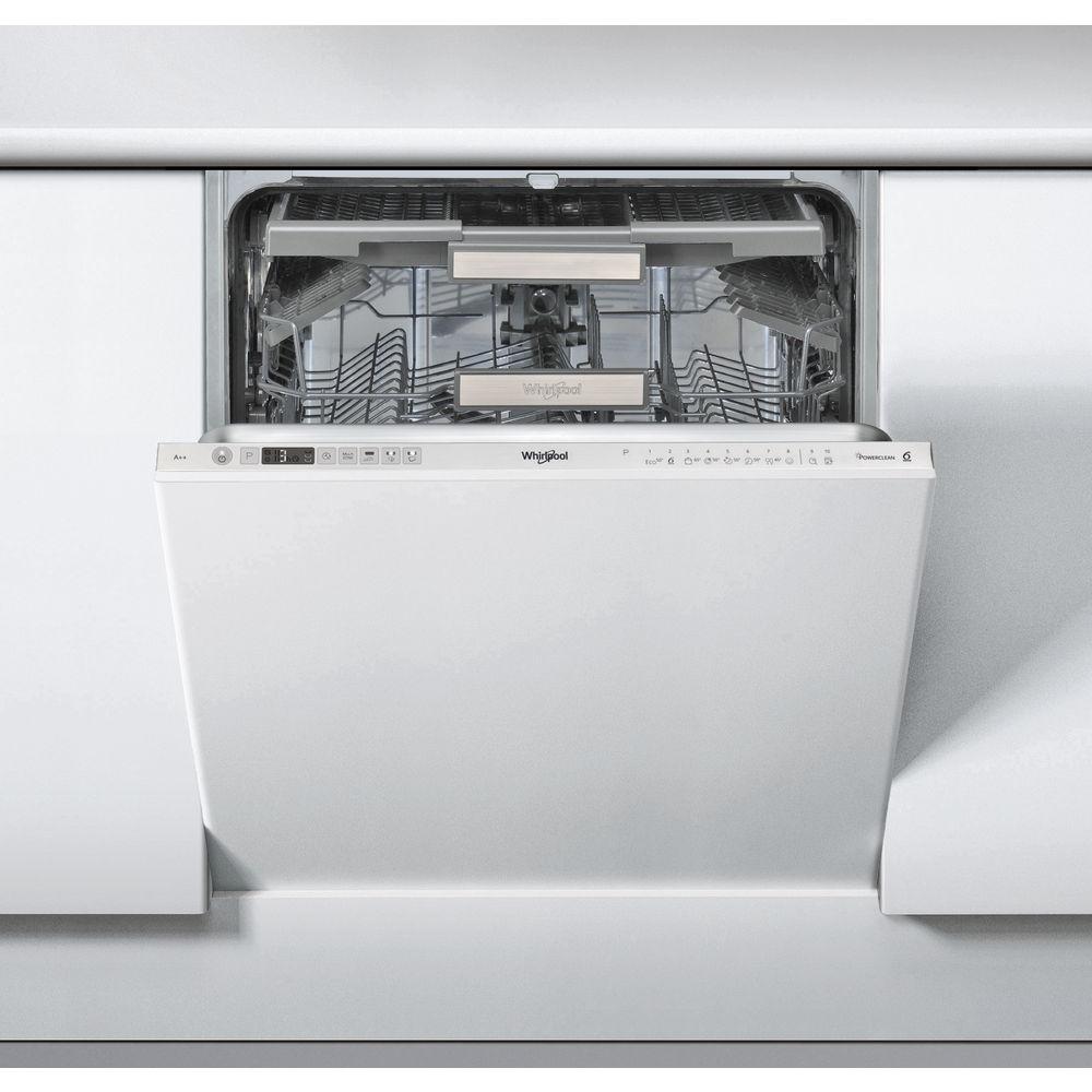 Whirlpool integrerad diskmaskin: färg rostfri, 60 cm - WIO 3P23 PL
