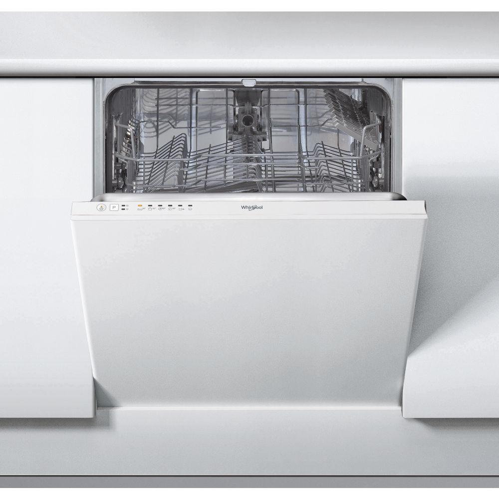 Whirlpool integrerad diskmaskin: färg vit, 60 cm - WIE 2B16
