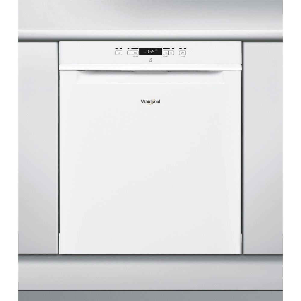 Whirlpool diskmaskin: färg vit, 60 cm - WUC 3C26