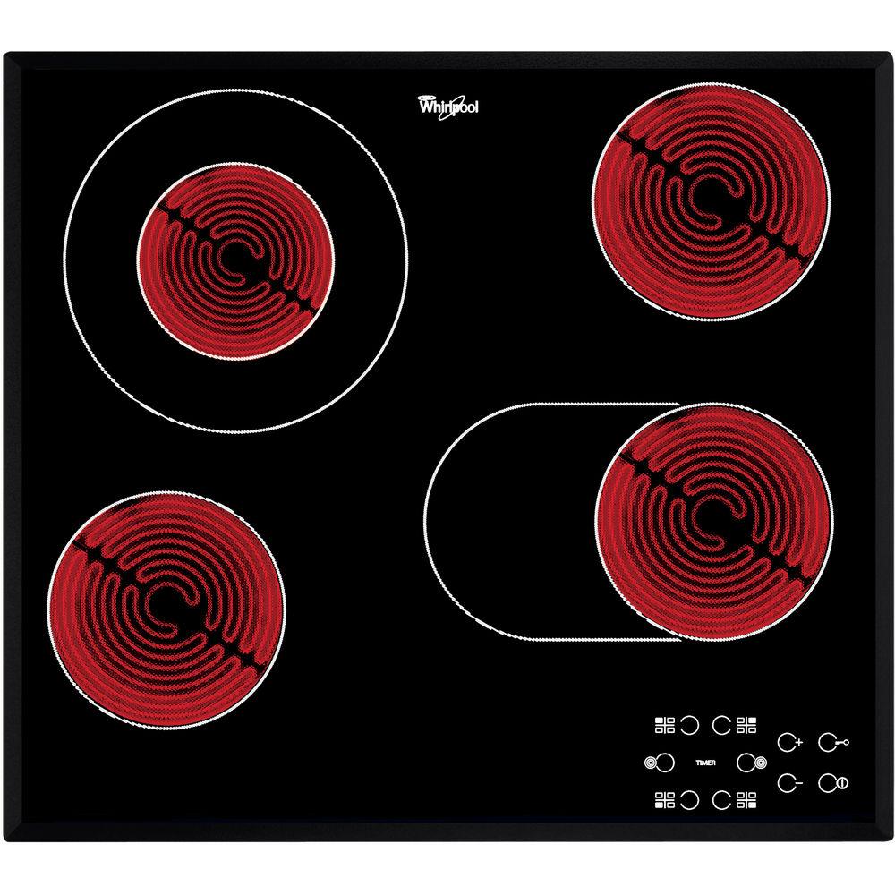 Whirlpool AKT 8210/BA Elektrische kookplaat - Inbouw - 4 elektrische zones