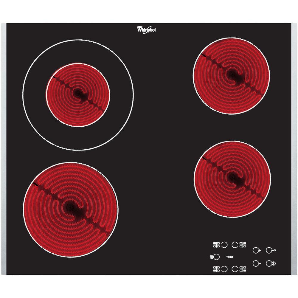 Whirlpool AKT 8130/LX Elektrische kookplaat - Inbouw - 4 elektrische zones