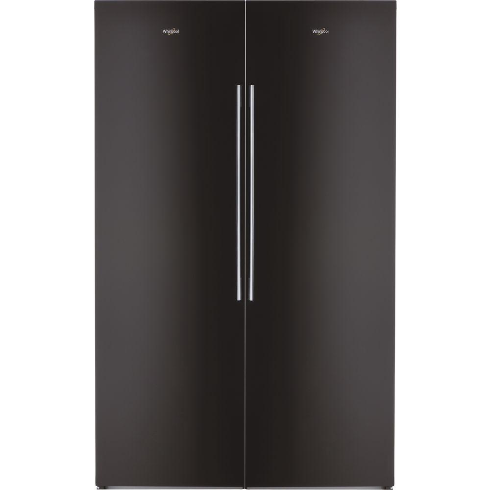 Whirlpool fristående kylskåp: färg svart - SW8 AM2C KAR