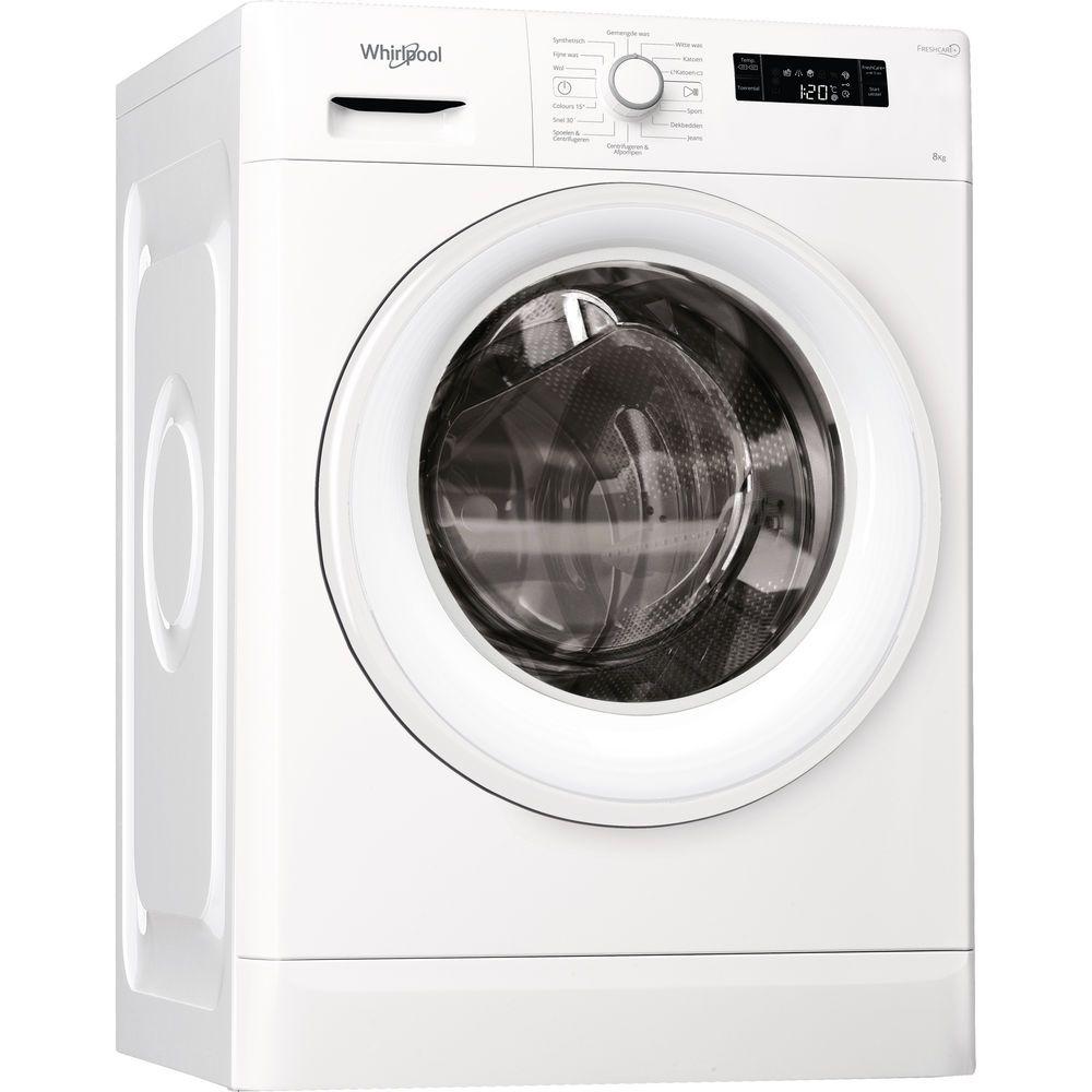 Whirlpool FWF81683WE NL Wasmachine - 8kg - 1600 toeren