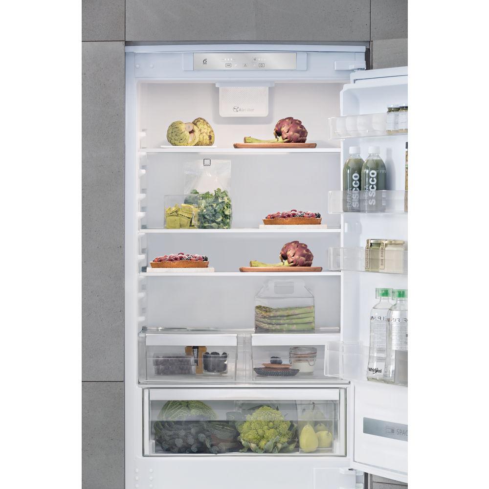 Contenitori Per Organizzare Frigo frigorifero combinato da incasso whirlpool - sp40 800