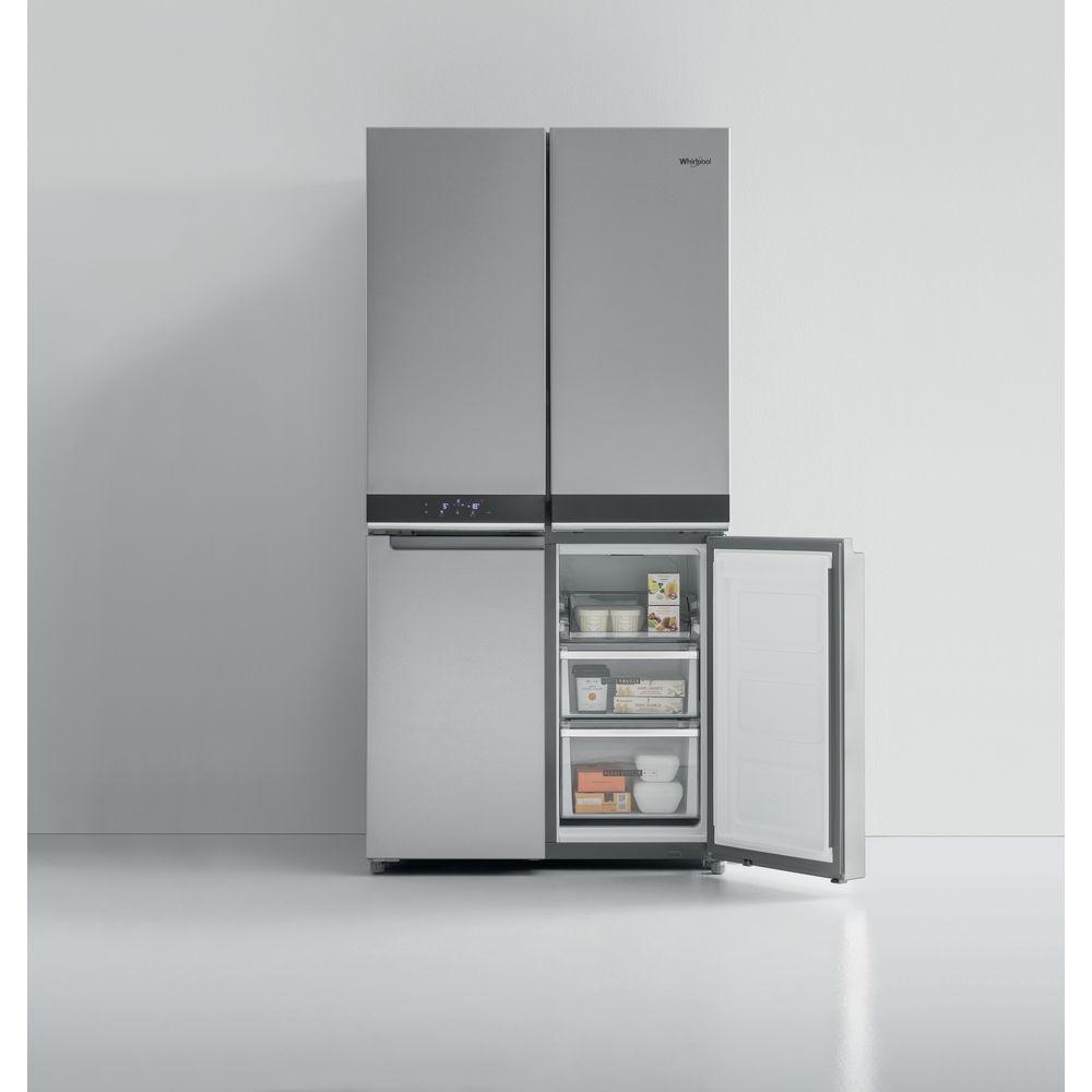 Refrigerateur Americain Faible Largeur réfrigérateur 4 portes w collection: couleur inox - wq9 b1l