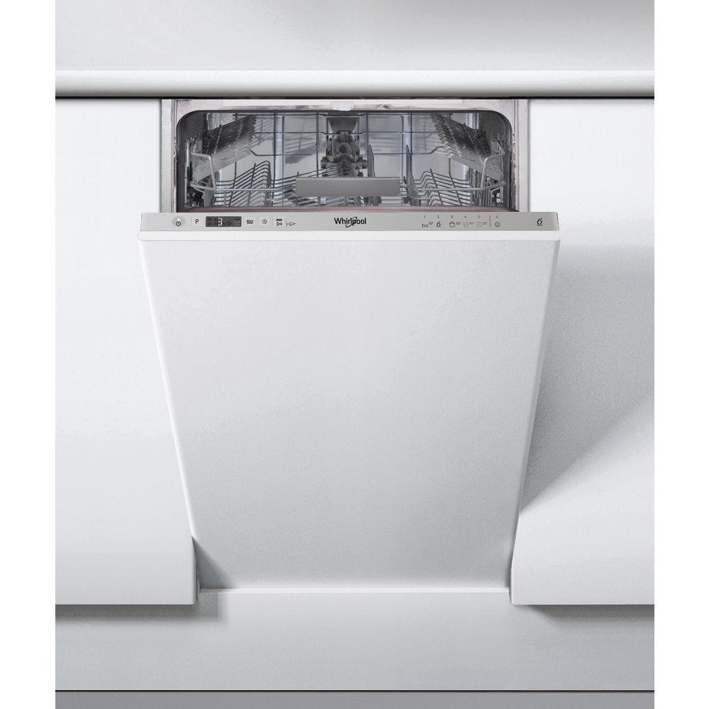 Whirlpool 45 cm integrerad diskmaskin - WSIC 3M17