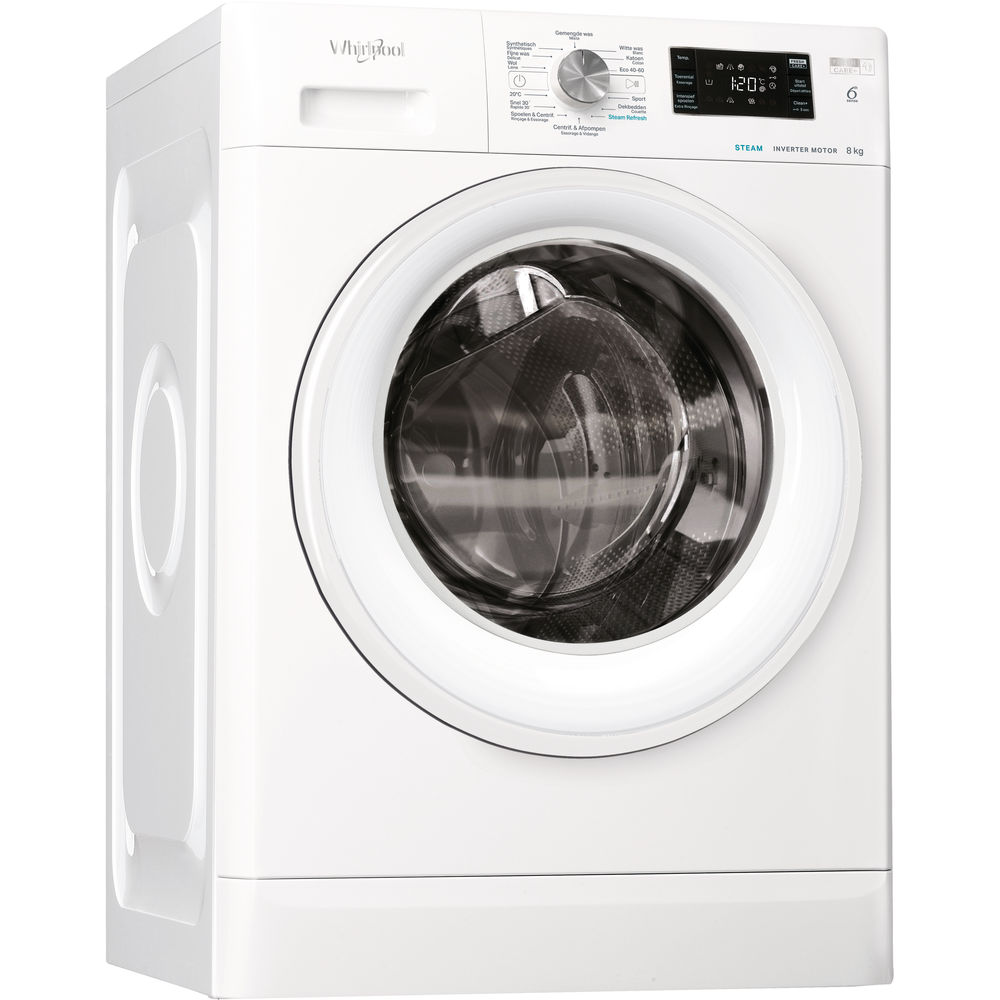 Whirlpool FFBBE 8468 WV F Wasmachine - 8 kg - 1400 toeren