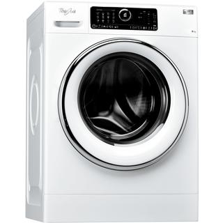 Whirlpool frontmatad tvättmaskin: 8 kg - FSCR80421