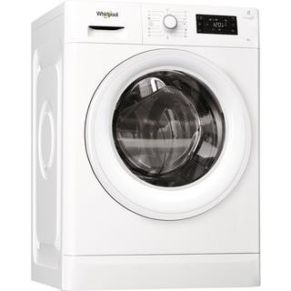 Whirlpool frontmatad tvättmaskin: 8 kg - FWG81484W EU
