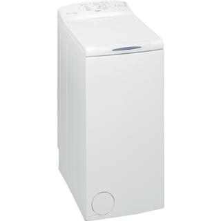 Whirlpool toppmatad tvättmaskin: 6 kg - AWE 6100