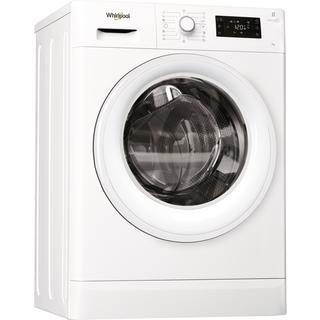 Whirlpool frontmatad tvättmaskin: 7 kg - FWSG71283W EU