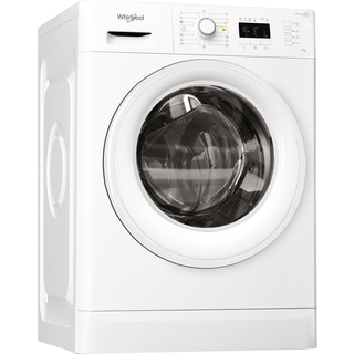 Whirlpool frontmatad tvättmaskin: 7 kg - FWL71683W1 EU