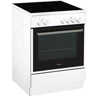 Cuisinière électrique ACMT 6533/WH Whirlpool - 60cm - 4 zones de cuisson