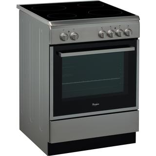 Cuisinière électrique ACMT 6533/IX Whirlpool - 60cm - 4 zones de cuisson