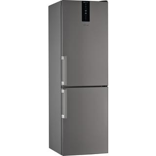 Réfrigérateur combiné W7 831T OX H Whirlpool - 60cm