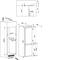 Whirlpool ART 5500/A+ Koel-vriescombinatie - Inbouw - 54cm