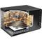 Whirlpool fristående mikrovågsugn: färg svart - MWF 420 BL