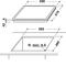 Whirlpool AKT 8090/NE Elektrische kookplaat - Inbouw - 4 elektrische zones