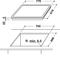 Whirlpool AKT 8360 LX Elektrische kookplaat - Inbouw - 4 elektrische zones