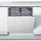 Whirlpool integrerad diskmaskin: färg vit, 60 cm - WIE 2B19