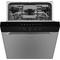 Whirlpool diskmaskin: färg rostfri, 60 cm - WUC 3C24 F X