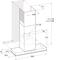 Whirlpool väggmonterad köksfläkt - WHSS 90F L T C K