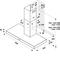 Whirlpool väggmonterad köksfläkt - WHBS 93 F LK X