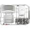 Whirlpool 45 cm integrerad diskmaskin - WSIO 3T223 PE X