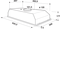 Whirlpool WCT 64 FLYX Dampkap - Integreerbare - 53cm