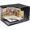 Whirlpool fristående mikrovågsugn: färg svart - MWF 201 B