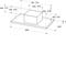 Whirlpool WEI 9FF LR IX Dampkap - Plafond - 90cm