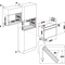 Whirlpool AMW 4910/IX Microgolfoven - Inbouw - 22 liter - 750 watt