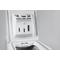 Whirlpool toppmatad tvättmaskin: 7 kg - DST 7000
