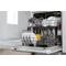 Whirlpool geïntegreerde vaatwasser: kleur wit, Volledige grootte - WSIC 3B16