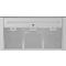 Whirlpool väggmonterad köksfläkt - WHSS 90F L T B K
