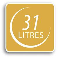 31 litres capacity