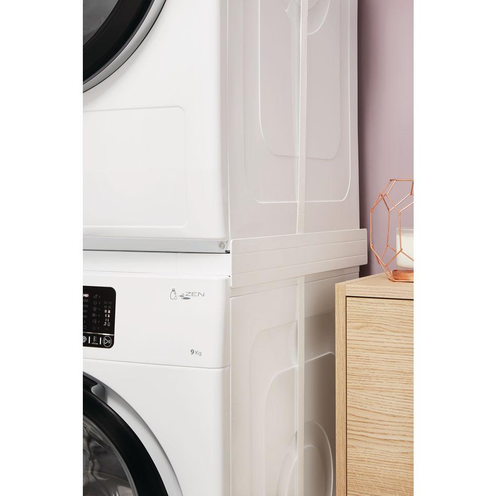 Meuble Lave Linge Seche Linge Colonne kit colonne lave-linge et sèche linge - kcl 103