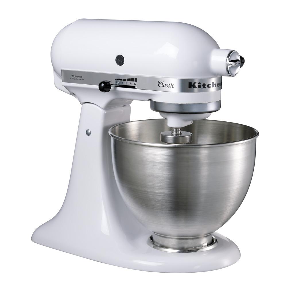 4.3 L CLIC Stand Mixer 5K45SS | KitchenAid UK Robot De Cuisine Kitchenaid on