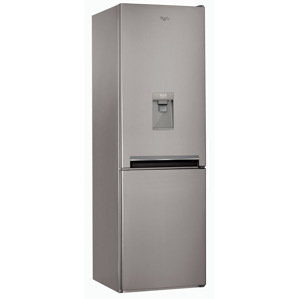 Supreme NoFrost combi fridge and freezer BSNF 8101 OX AQUA