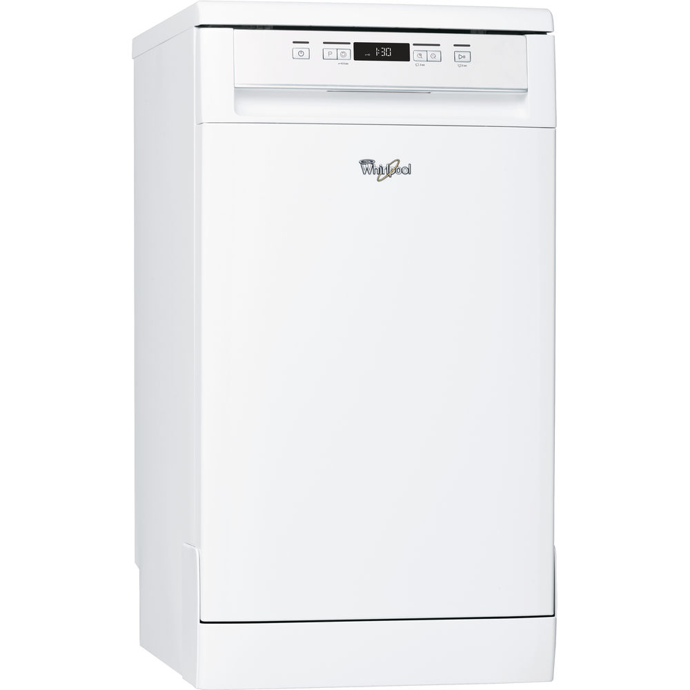 Whirlpool dishwasher: slimline, white color - ADP 301 WH UK