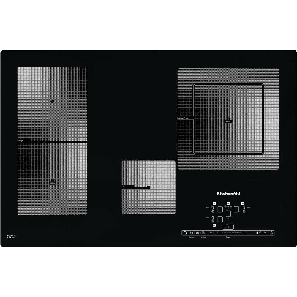 77 cm induktionskochfeld khip4 77511 offizielle website von kitchenaid. Black Bedroom Furniture Sets. Home Design Ideas