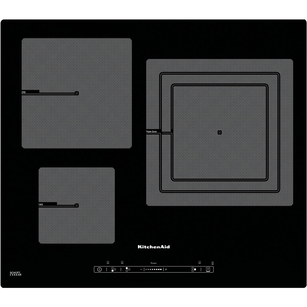 Induction 65 cm khid3 65510 official kitchenaid site for Plaque a induction whirlpool