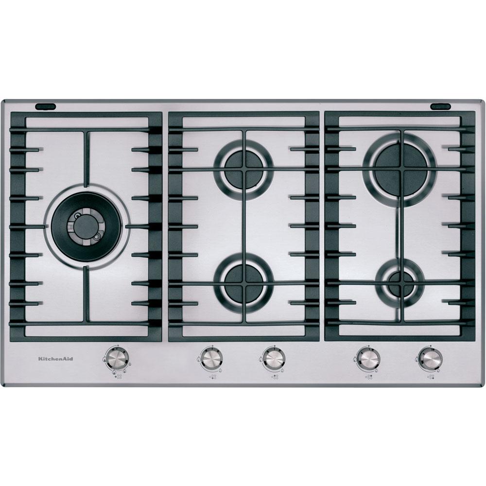 gaskochfeld 90 cm khmp5 86510 offizielle website von kitchenaid. Black Bedroom Furniture Sets. Home Design Ideas