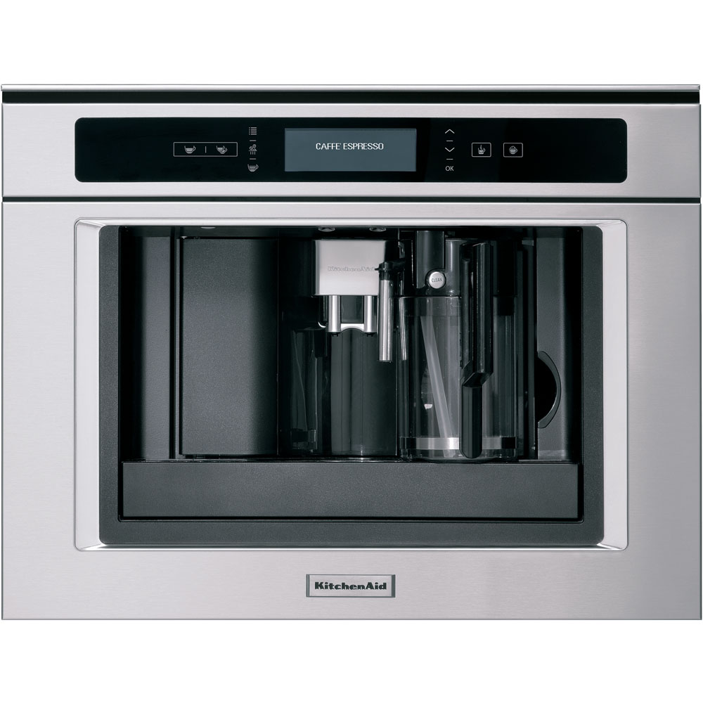 Built In Coffee Maker ~ Built in coffee machine cm kqxxx kitchenaid uk