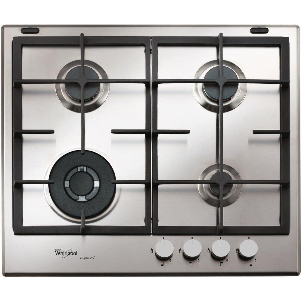 Whirlpool gas hob: 4 gas burners - GMA 6422/IXL